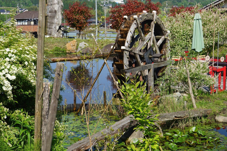 神谷家の水車